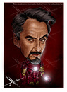 Cartoon: IRONMAN (small) by Mecho tagged robert,downey,jr,ironman