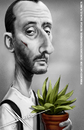 Cartoon: Jean Reno (small) by Mecho tagged jean,reno,leon,el,profesional