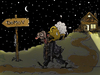 Cartoon: down home! (small) by ivo tagged wow