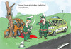 Cartoon: good police (small) by ivo tagged wau