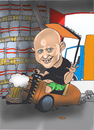 Cartoon: janek... (small) by ivo tagged wow
