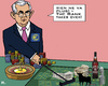 Cartoon: Bank-Roulette? (small) by RachelGold tagged papademos,greece,euro,europeancentralbank