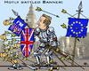 Cartoon: BRexit (small) by RachelGold tagged uk,britain,cameron,london,in,out,eu,europe,ukip