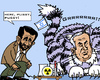 Cartoon: Dangerous Game (small) by RachelGold tagged iran,israel,ahmadinejad,netanyahu,nuclear,power,plant