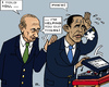 Cartoon: Military Strike Exit (small) by RachelGold tagged diplomacy,usa,russia,syria,military,strike,obama,putin