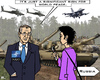 Cartoon: Peace Organization (small) by RachelGold tagged nato,manoeuvres,summit,peace,uas,russia,poland,provocation,stoltenberg