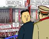 Cartoon: Welcome Back Kim! (small) by RachelGold tagged north,korea,disappearence,kim,jong,un