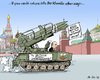 Cartoon: In a Tank.. (small) by MarkusSzy tagged russia,putin,election,campaign,armament,tank