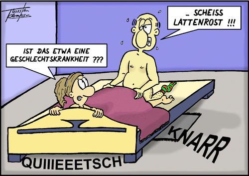 Geschlechtskrankheit By Thorsten Klomfass Love Cartoon Toonpool