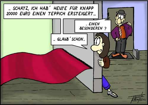 Teppich By Thorsten Klomfass  Media & Culture Cartoon