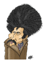 Cartoon: Marin Sorescu 2 (small) by Nayer tagged marin,sorescu,romanian,romania,poet,playwright,novelist