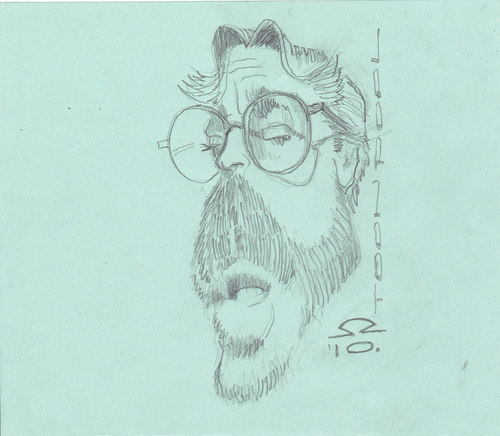 Cartoon: Eric Clapton (medium) by zed tagged eric,clapton,england,musician,guitar,rock,portrait,caricature