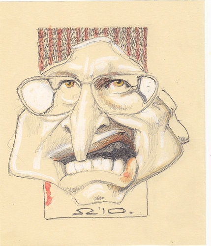 Cartoon: Richard Bruce Dick Cheney (medium) by zed tagged richard,bruce,dick,cheney,usa,politician,vice,president,secretary,of,defence,white,house,congress,iraq,war,portrait,caricature