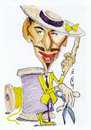 Cartoon: John Galliano (small) by zed tagged john,galliano,gibraltar,fashion,designer,portrait,caricature