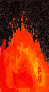Cartoon: magma (small) by zed tagged magma,earth,volcano,eruption,polution,lava,active