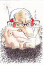 Cartoon: Rupert Murdoch (small) by zed tagged rupert,murdoch,australia,global,media,world,news,corporation,portrait,caricature