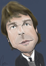 Cartoon: mr. conte (small) by iyojarwo tagged champione