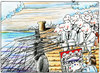 Cartoon: Beforehand prepared (small) by firuzkutal tagged fishing,rich,business,toonpool,firuzkutal