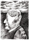 Cartoon: Weniger_frei_denkende ... (small) by firuzkutal tagged tanke,danken,thought,brain,freedom,expression,free,suppress,intellectuel,mind,state,understanding,different,foreign,outsider