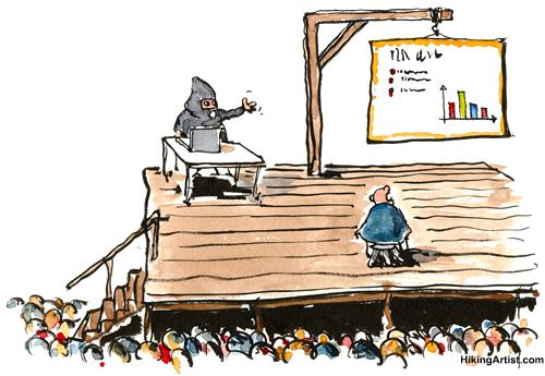 Death by PowerPoint Presentation by Frits Ahlefeldt via toonpool.com