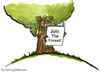 Cartoon: Time to join the forest? (small) by Frits Ahlefeldt tagged nature,conservation,eco,ecology,wood,forests,forest,time,old