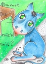 Cartoon: nimmst du mich mit? (small) by Metalbride tagged traidingcards,traiding,card,crads,karten,karte,sammelkarte