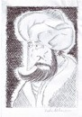 Cartoon: sultan (small) by kader altunova tagged osmanisch,saray,sultan