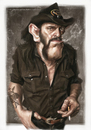 Cartoon: LEMMY KILMISTER (small) by slwalkes tagged motorhead,aceofspades,stephenlorenzowalkes,wacom,digitalpainting,caricature