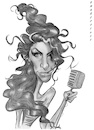 Cartoon: Amy Winehouse (small) by shar2001 tagged caricature amy winehouse