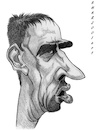 Cartoon: Franck Ribery (small) by shar2001 tagged caricature franck ribery