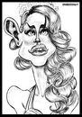 Cartoon: Lana del rey (small) by shar2001 tagged caricature lana del rey