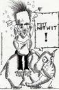 Cartoon: MITT ROMNEY (small) by mindpad tagged mitt,romney,us,presidential,elections,republican,candidate,gaffes
