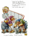 Cartoon: da lacht der hesse (small) by herr Gesangsverein tagged tja
