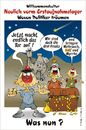 Cartoon: Vorm Erstaufnahmelager (small) by BARHOCKER tagged migranten