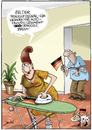 Cartoon: Fahnen (small) by andre sedlaczek tagged frauenfussball wm