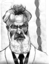 Cartoon: Constantine Brancusi (small) by Mattia Massolini tagged brancusi,caricature