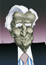 Cartoon: Jean-Claude Trichet (small) by Mattia Massolini tagged trichet