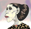 Cartoon: Martha Graham (small) by Mattia Massolini tagged martha,graham,dancer