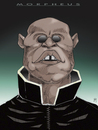 Cartoon: Morpheus (small) by Mattia Massolini tagged morpheus,matrix