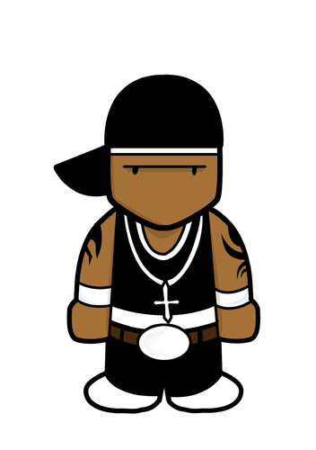 A Z Cartoon Characters Rap : Cent by playa from the hymalaya famous people cartoon