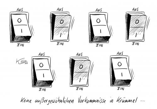 ein aus by stuttmann politics cartoon toonpool. Black Bedroom Furniture Sets. Home Design Ideas