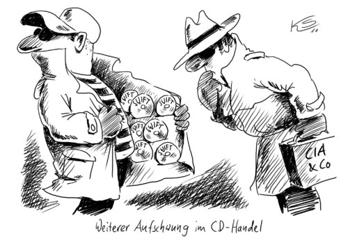Cartoon: Swift-CD (medium) by Stuttmann tagged swift,cd,swift,cd,musik,handel,verkauf,aufschwung