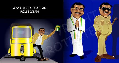 Cartoon Images Politicians Cartoon Indian Politician