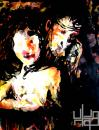 Cartoon: Le serpent et la femme (small) by Svarty tagged painting,couple,love