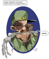 Cartoon: Raul Castro (small) by Toni DAgostinho tagged charge