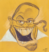 Cartoon: Self Caricature (small) by Toni DAgostinho tagged toni,dagostinho