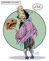 Cartoon: Shakespeares Halloween (small) by Toni DAgostinho tagged shakespeare,halloween