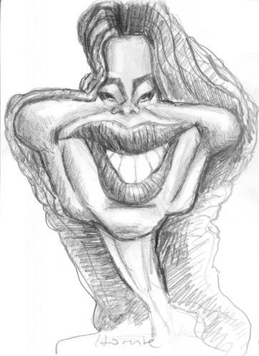 Sofia Vergara By Horate Famous People Cartoon Toonpool