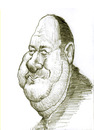 Cartoon: James Gandolfini (small) by horate tagged television