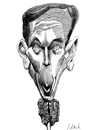 Cartoon: Petraeus (small) by horate tagged cia
